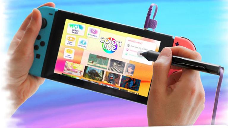 Colors SonarPen : un stylet pour Nintendo Switch sur Kickstarter
