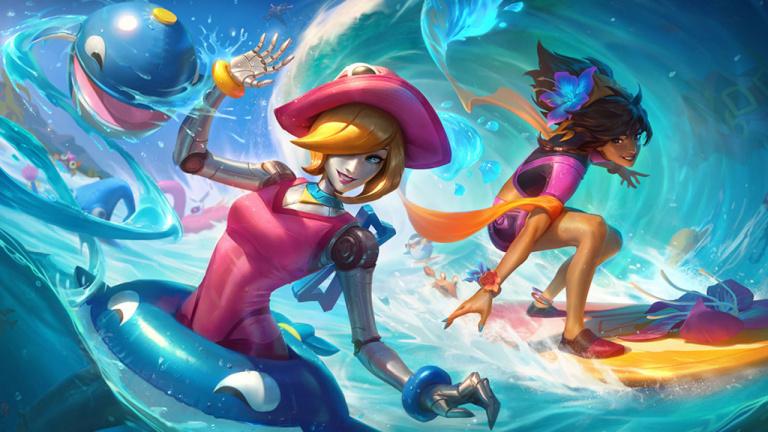 League of Legends fête l'arrivée de l'été avec de nouveaux skins Pool Party