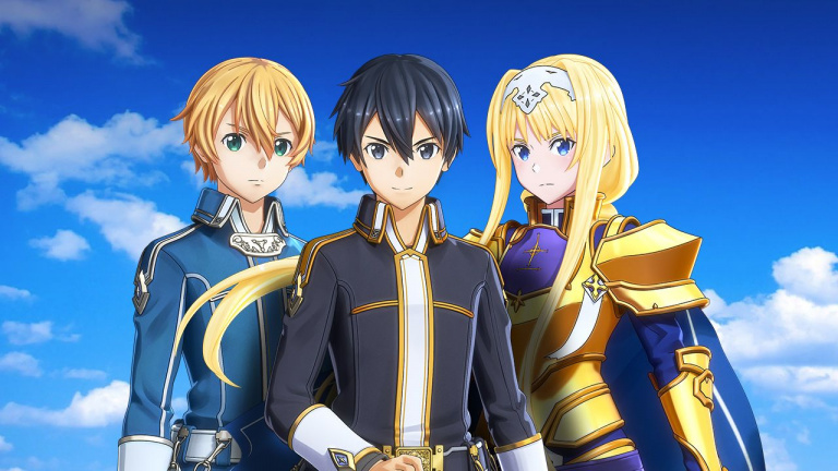 Sword Art Online : Alicization Lycoris - quatre personnages jouables se présentent en vidéo