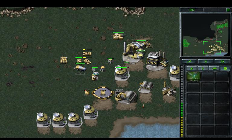 GDI 13 B - Frappe du canon à ions (Yougoslavie est)