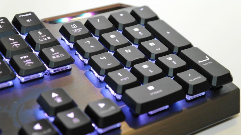 Test du clavier MSI Vigor GK50 : le low profile abordable