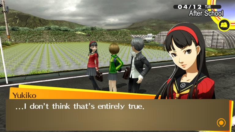 Persona 4 : Golden - Un RPG d'exception enfin sur PC