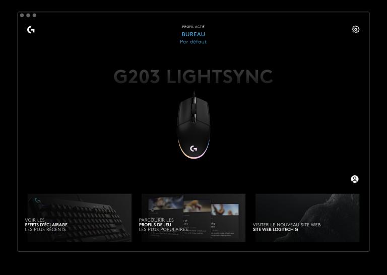 Test de la Souris Logitech G203 LightSync : Un modèle équilibré en mal de performance
