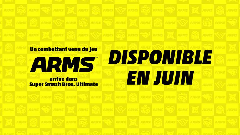 Super Smash Bros. Ultimate : Le contenu ARMS présenté en direct la semaine prochaine