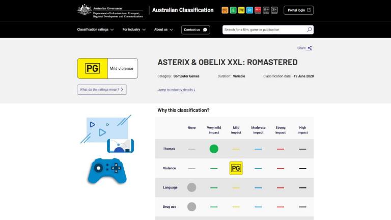 [Rumeur] Astérix & Obélix XXL : Un remaster du premier opus apparaît en Australie