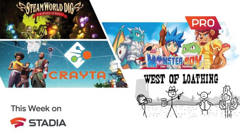 Google Stadia Pro : Crayta et Monster Boy et le Royaume Maudit à l'affiche en juillet