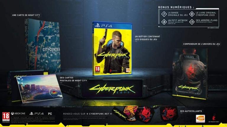 Les précommandes Cyberpunk 2077 Day One Edition au meilleur prix
