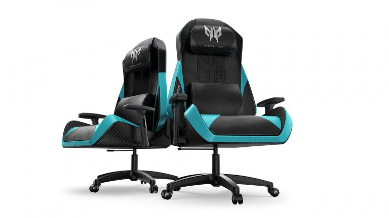 Predator x OSIM : un siège gaming avec fonction massage chez Acer