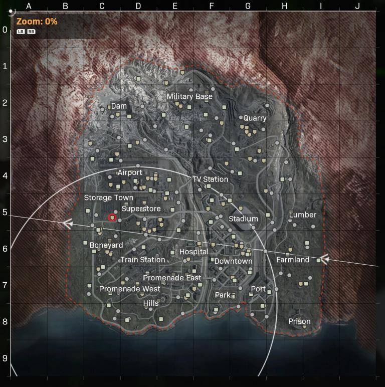 Call of Duty Warzone, saison 4, mission de renseignement Chasser l'ennemi : Trouvez l'emplacement indiqué dans le message de Ghost, notre guide