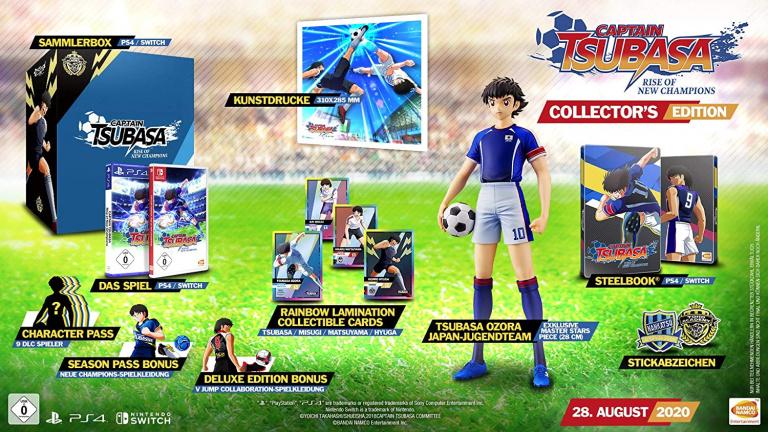 Promo Auchan : La précommande Captain Tsubasa sur PS4 et Nintendo Switch