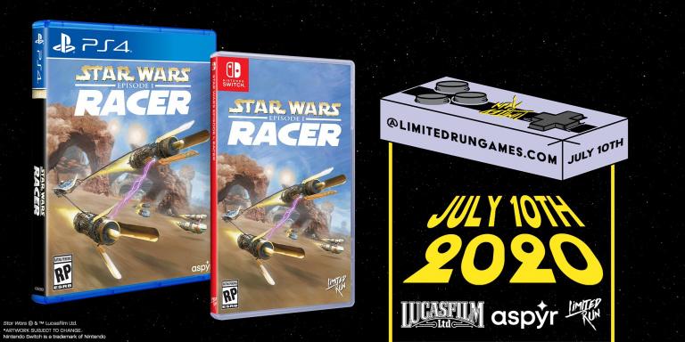 Star Wars Episode I : Racer - Les précommandes de l'édition physique ouvriront en juillet