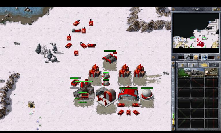 Soviétiques 4 A - Derrière les lignes (Nord)