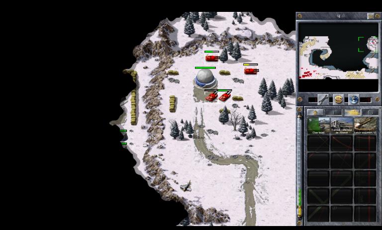 Soviétiques 4 B - Derrière les lignes (Sud)
