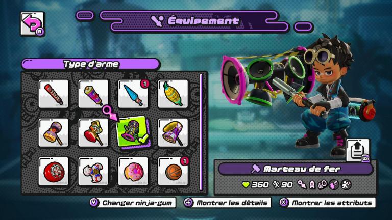Ninjala : Quelle est la meilleure arme ? Notre guide