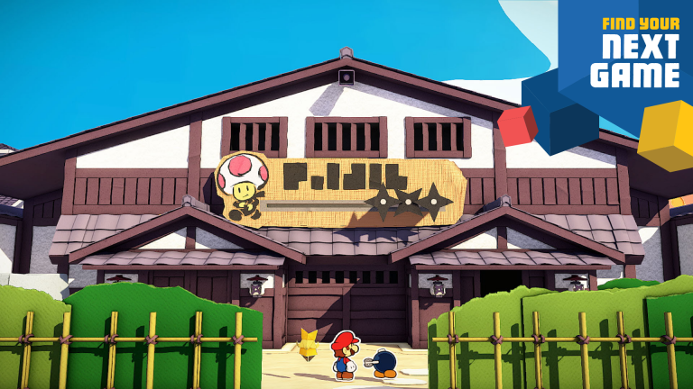 Paper Mario : The Origami King proposera un monde ouvert inédit