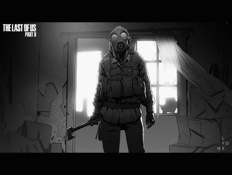 The Last of Us Part II : Naughty Dog partage ses travaux de concept art