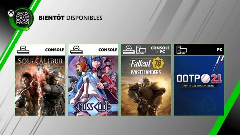 Xbox Game Pass : Fallout 76 et SoulCalibur VI à l'affiche en juillet, Metal Gear Solid V sur le départ