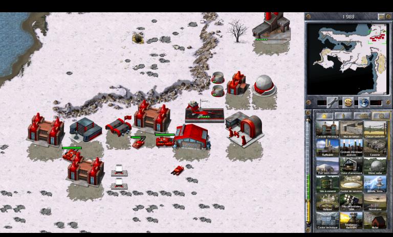Soviétiques 13 A - Capturez la chronosphère (Nord)