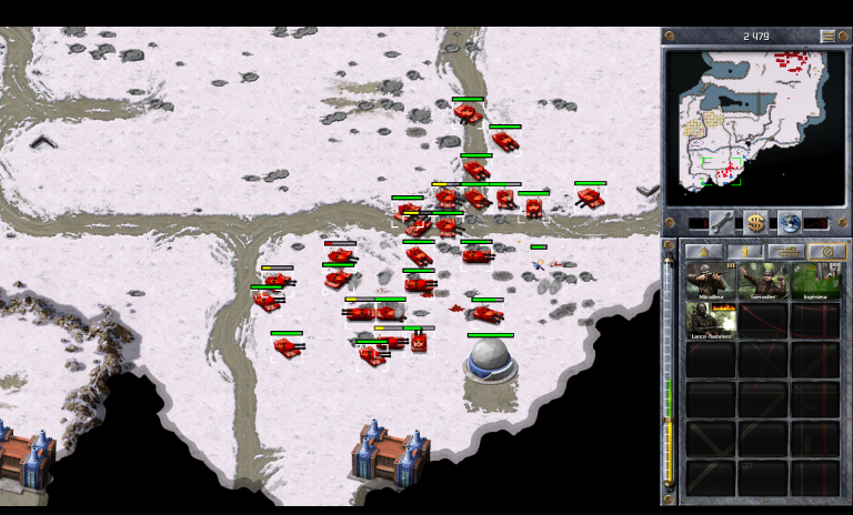 Soviétiques 13 B - Capturez la chronosphère (Sud)