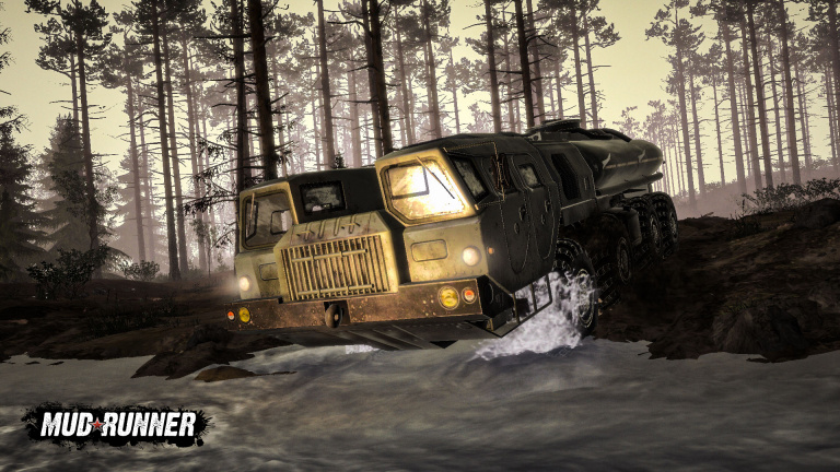 MudRunner : la simulation off-road arrive sur iOS et Android le 15 juillet