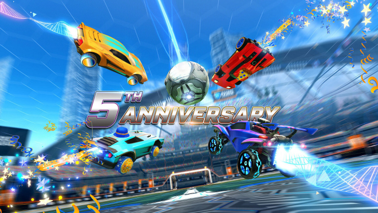 Rocket League : 75 millions de joueurs recensés en cinq ans