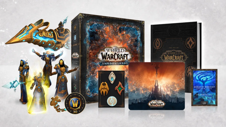 World of Warcraft : Shadowlands dévoile son Édition Collector