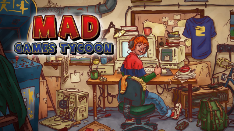 Mad Games Tycoon s'offre une sortie sur appareils mobiles