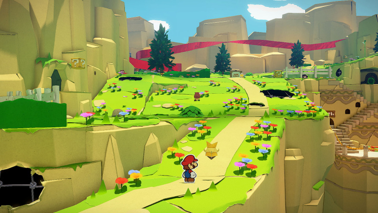 Paper Mario : The Origami King délaisse le système de niveaux et d'expérience