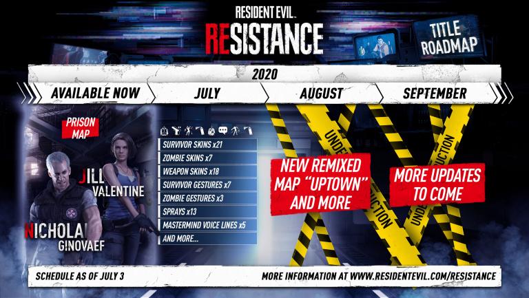 Resident Evil Resistance reçoit une foule de contenus cosmétiques