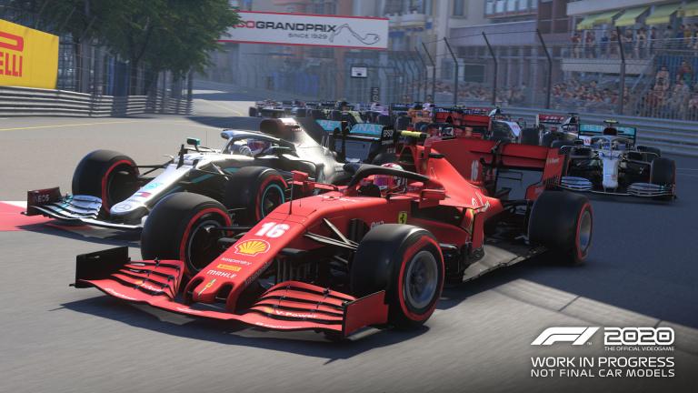 F1 2020 réalise un excellent départ au Royaume-Uni