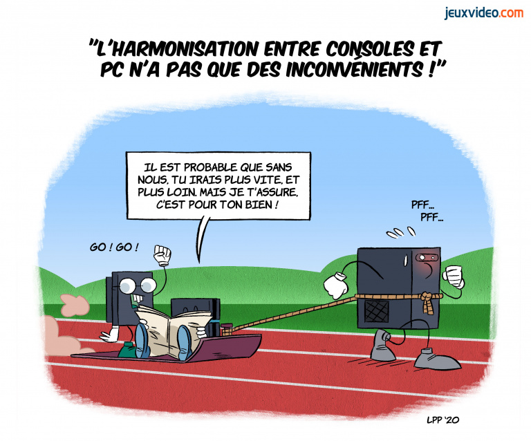 """Billet : """"L'harmonisation des jeux PC et consoles n'a pas que des inconvénients"""""""