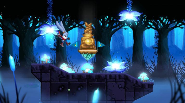 Kaze and the Wild Masks : le platformer rétro sortira aussi sur Switch, PS4 et Xbox One