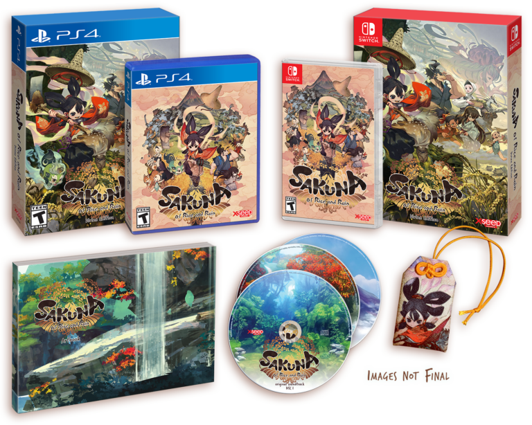 Sakuna : Of Rice and Ruin prend date sur Switch, PS4 et PC