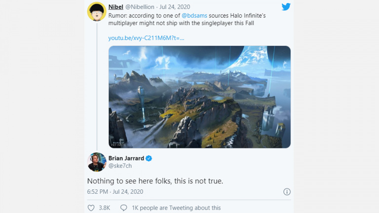Halo Infinite sera livré avec un mode multijoueurs
