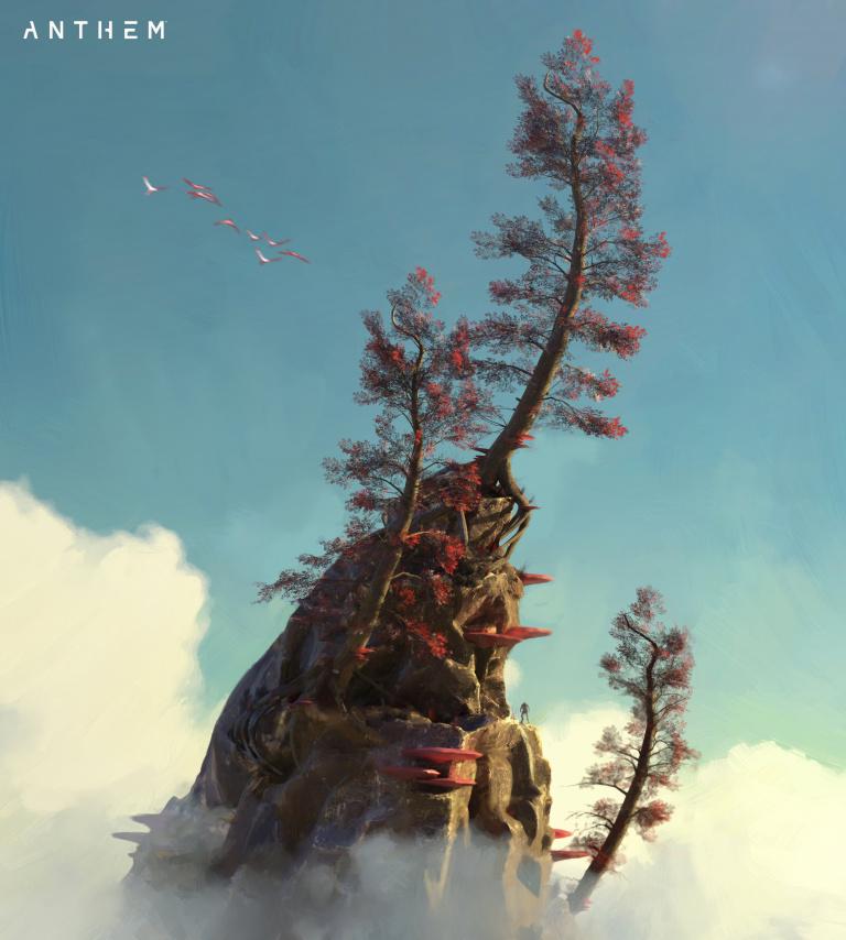 Anthem : De nouveaux artworks pour la refonte du titre