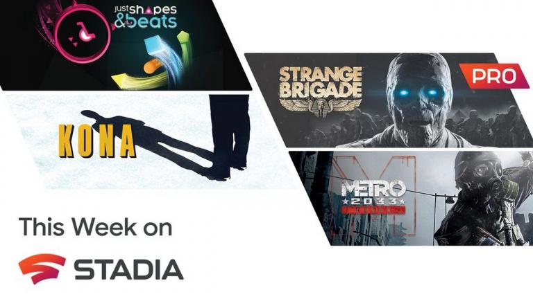 Google annonce les jeux Stadia Pro du mois d'août
