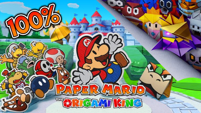 Paper Mario : The Origami King, comment le finir à 100% ? Collectibles, bonus…notre guide complet