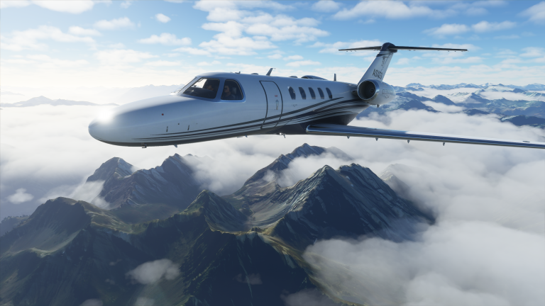 Découvrez le monde comme jamais avec Microsoft Flight Simulator