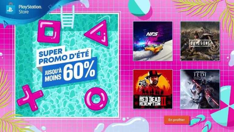 PlayStation Store : la Super Promo d'été continue !