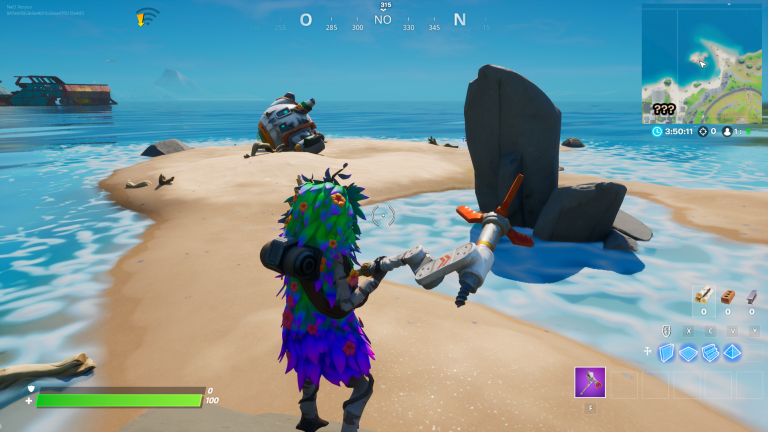 Fortnite Chapter 2 Season 3 Secret Challenge: Launch the Ship, Our Guide