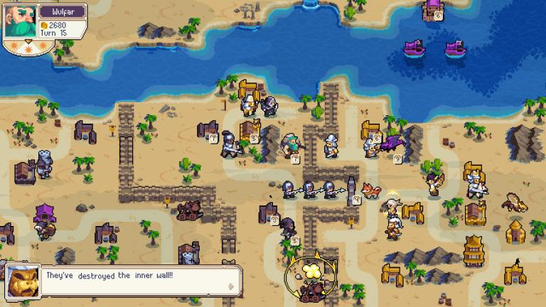 Wargroove : la version PS4 va se mettre au cross-play avec la mise à jour Double Trouble
