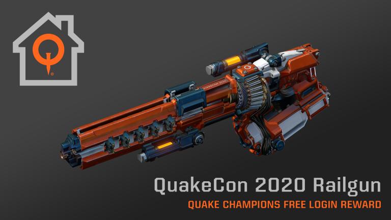 Quake Champions : Des bonus durant la QuakeCon