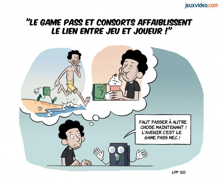 """Billet : """"Le Game Pass et consorts affaiblissent le lien entre jeu et joueur"""""""