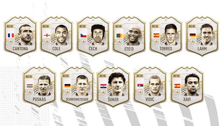 FIFA 21 : de nouvelles cartes icônes disponibles dans FUT, liste et détails