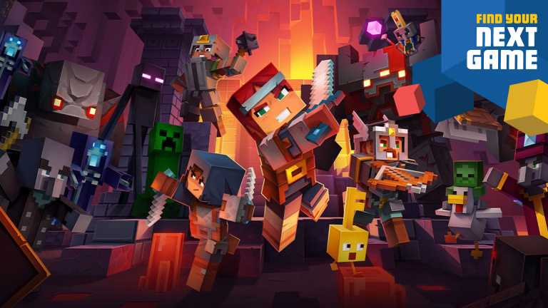 Minecraft Dungeons s'offre une version physique sur PS4, Xbox One et Nintendo Switch
