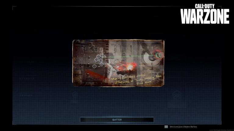 Call of Duty Warzone, saison 5, mission L'équipe perdue : Une unité d'Armistice était en poste dans la zone résidentielle de Torsky, notre guide