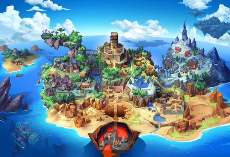 Nexomon : Extinction - Le Pokémon-like partage une Nexopedia et un aperçu de sa map
