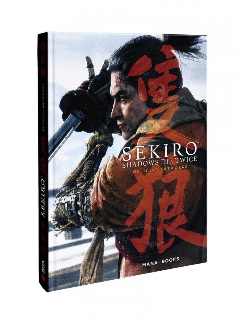 Sekiro Shadows Die Twice : l'artbook officiel arrive en France le 17 septembre