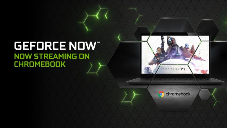 Nvidia lance la bêta de Geforce NOW sur ChromeOS