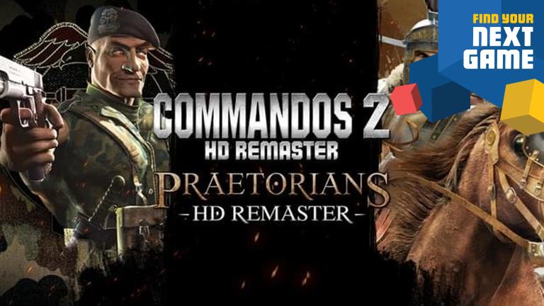 Commandos 2 & Praetorians : Les remasters HD datent leur sortie sur PS4 et Xbox One